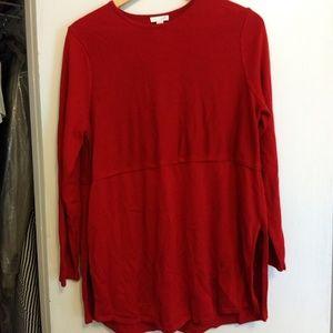 J.Jill Red Sweater